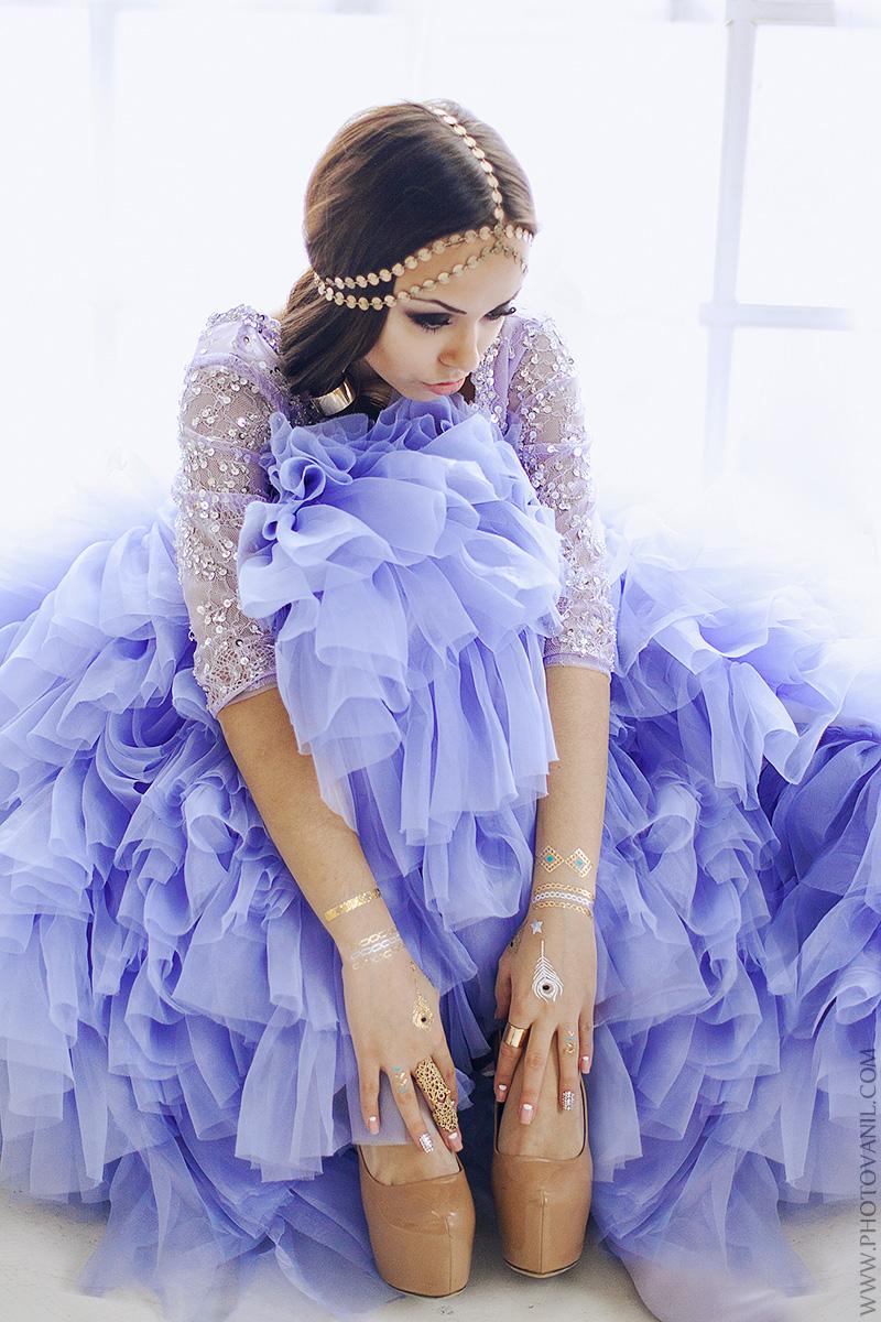 Пышное платье для образа в стиле «Восточная Красавица»