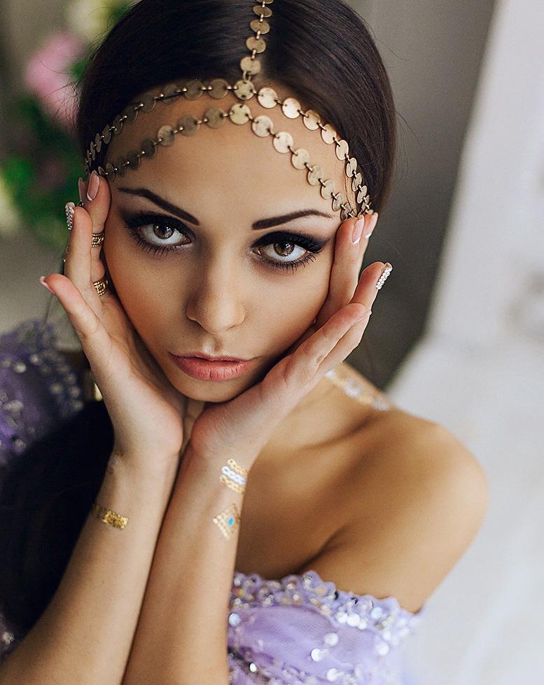 Индийское украшение для волос