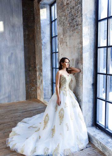 Роскошное платье для фотосессии