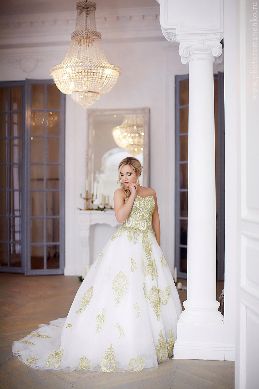 Платье для фотосессии Royal Gold