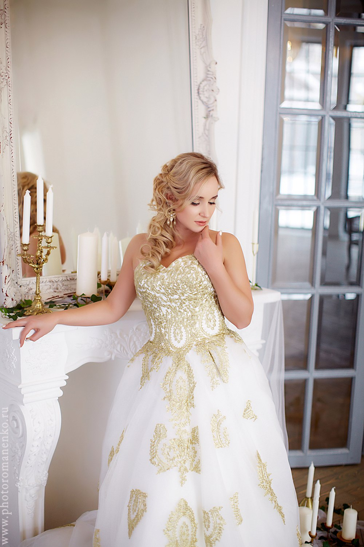 Фотосессия в придворном платье