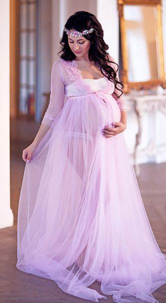 Будуарное платье Alice Pink