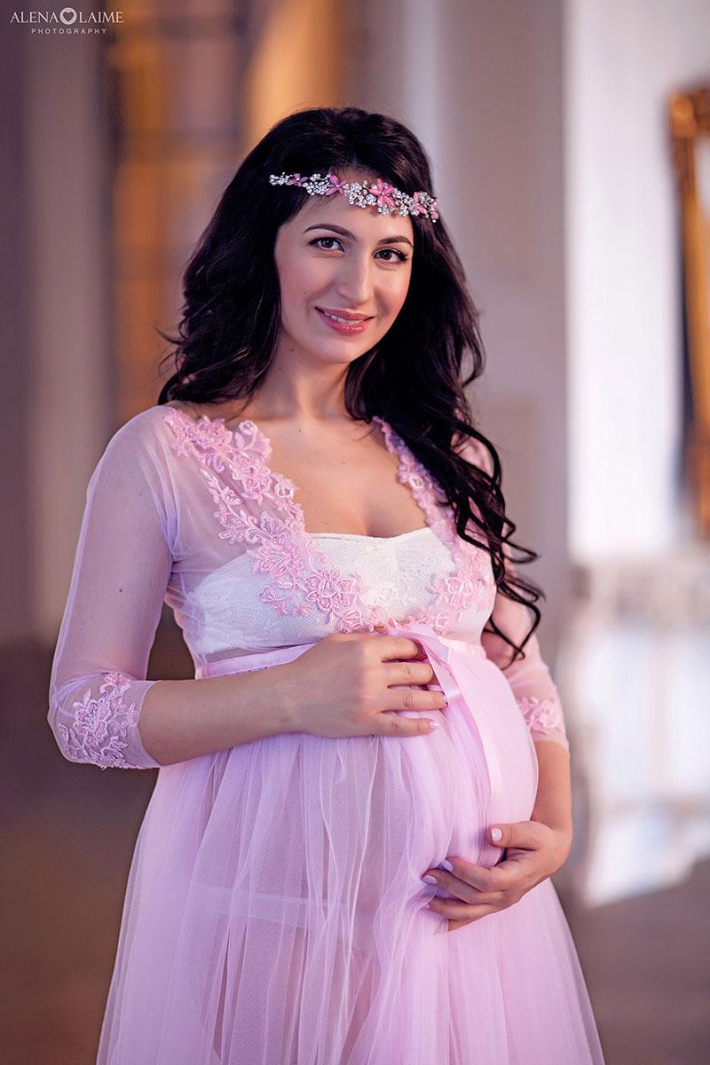 Будуар для фотосессии беременности