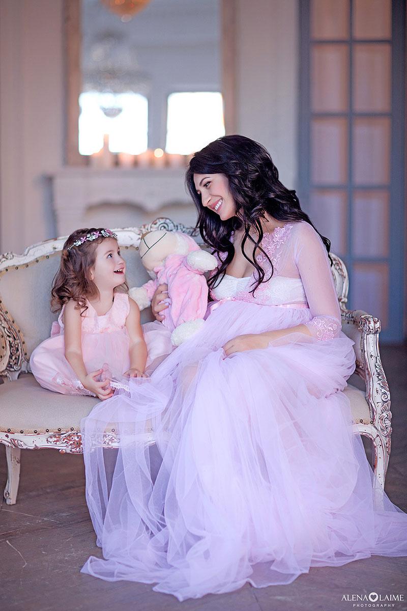 Модный будуар для фотосессии беременности