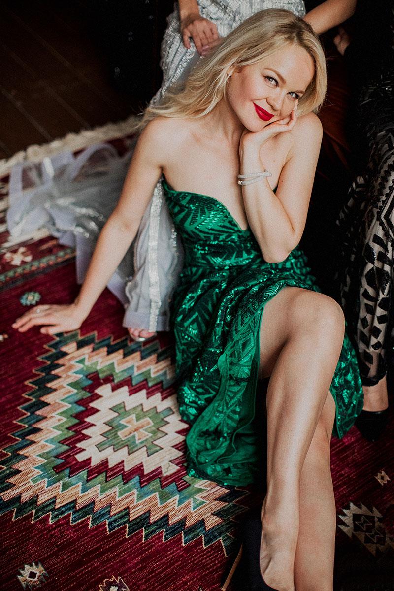 Красивое платье для фото девичника