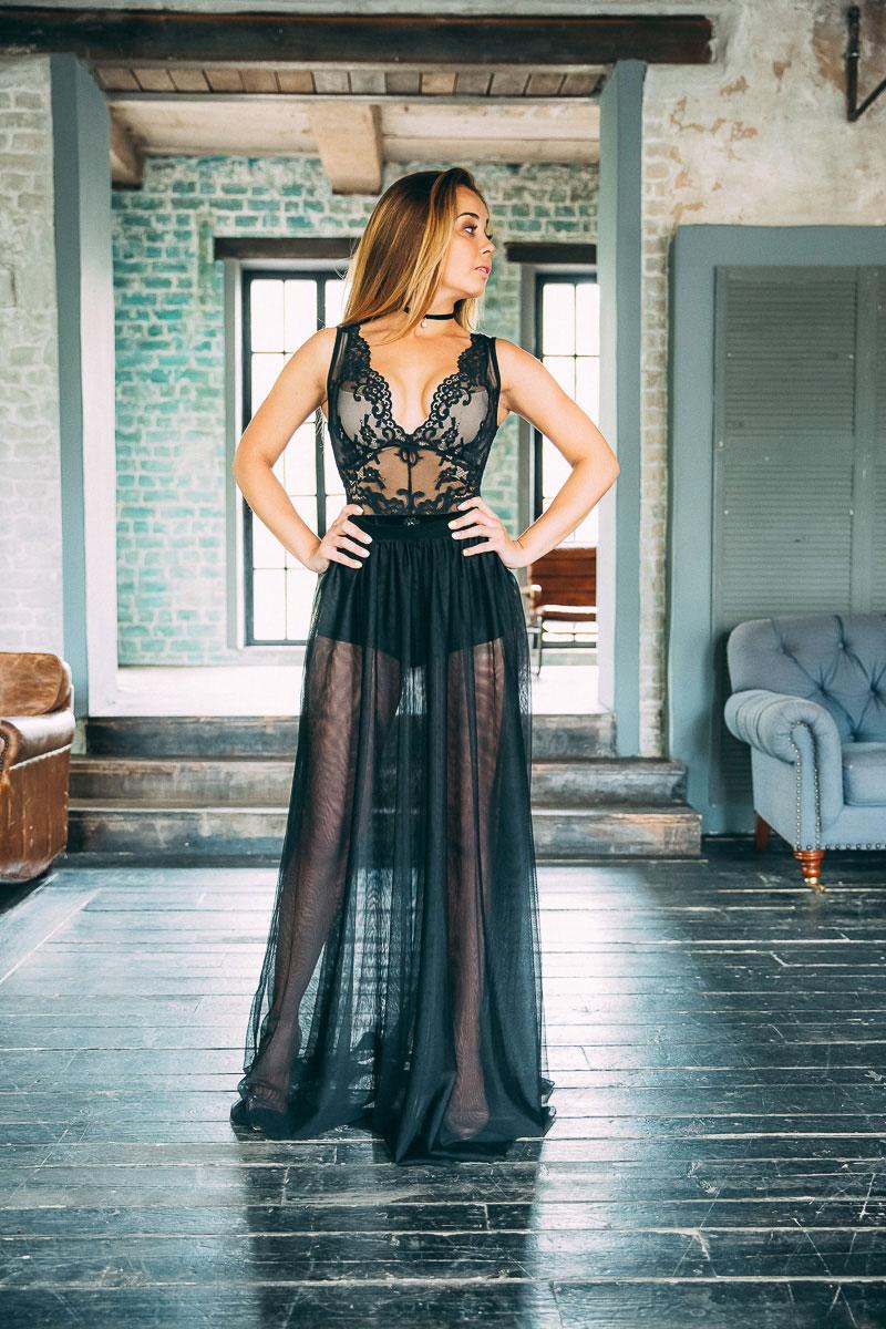 Прозрачная юбка напрокат