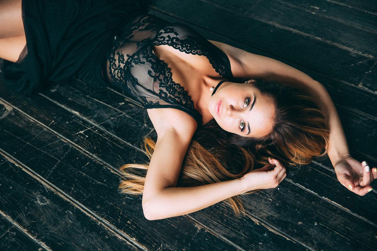 Фотосессия в сексуальном боди