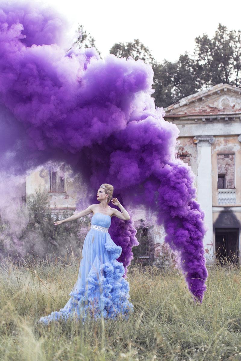 Голубое платье облако недорого