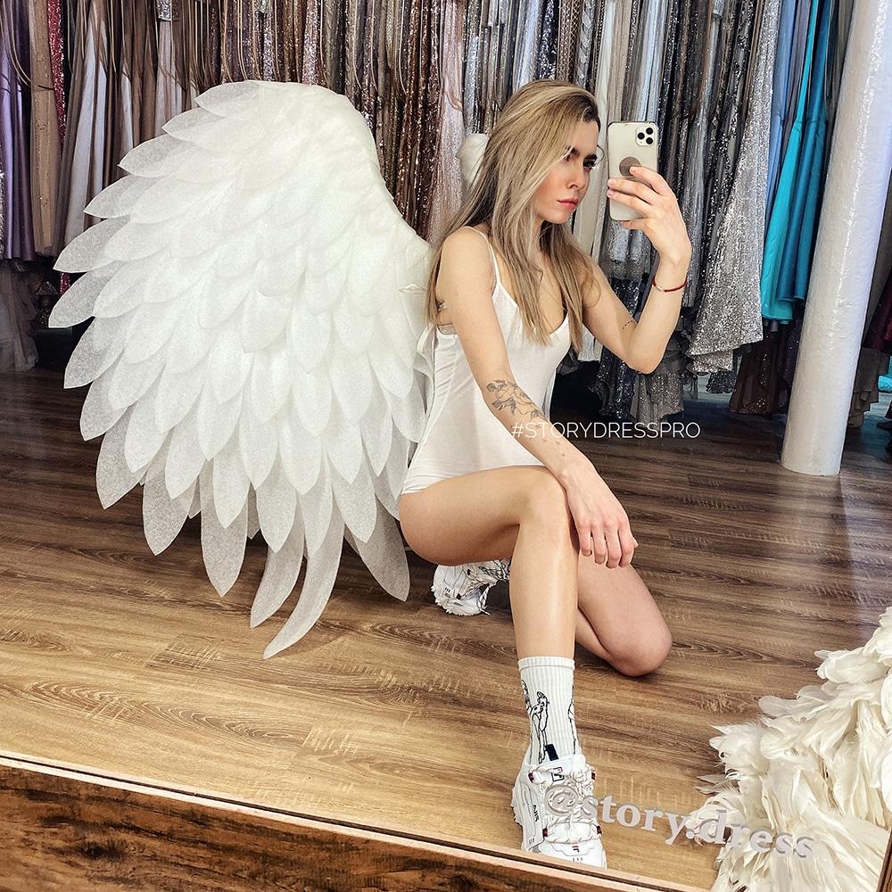 Большие белые крылья WG-07