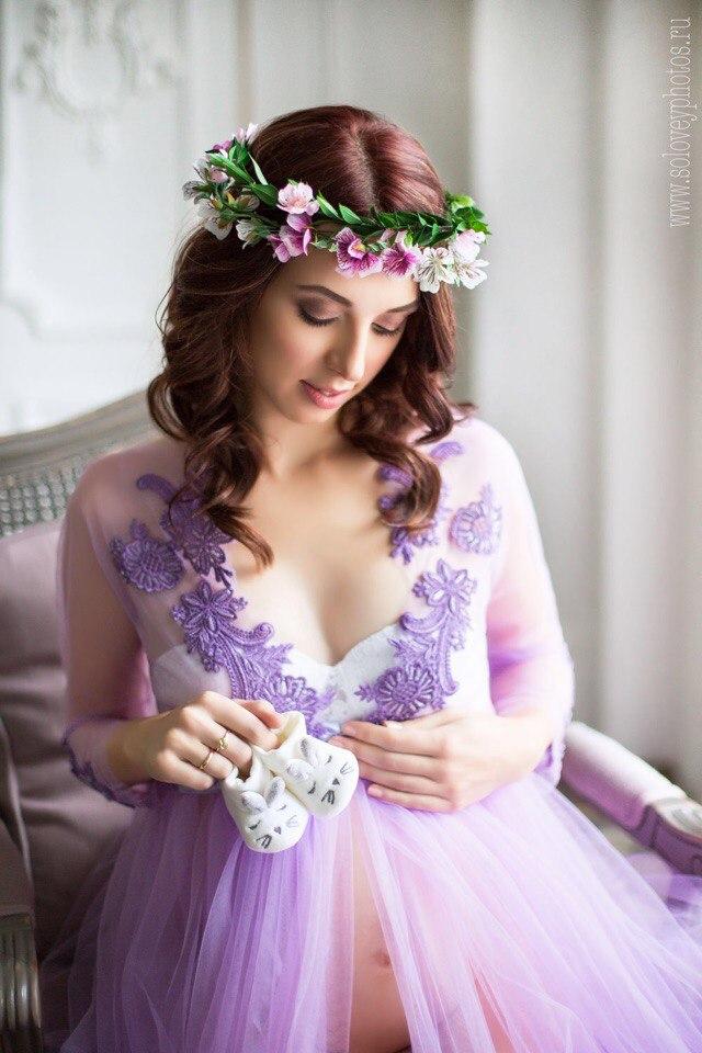 Будуарное платье Элис