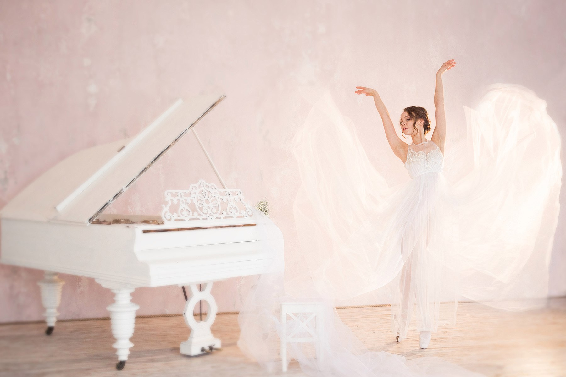 Фотосессия для балерины и танцовщицы