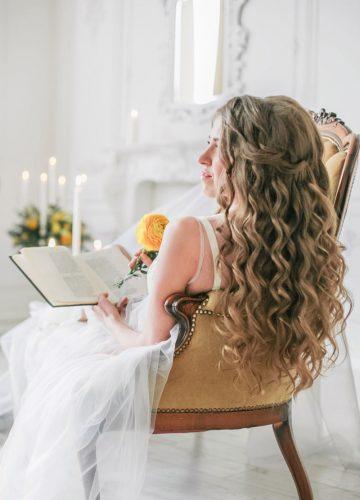 """Полупрозрачный пеньюар для фотосессии """"утро невесты"""""""