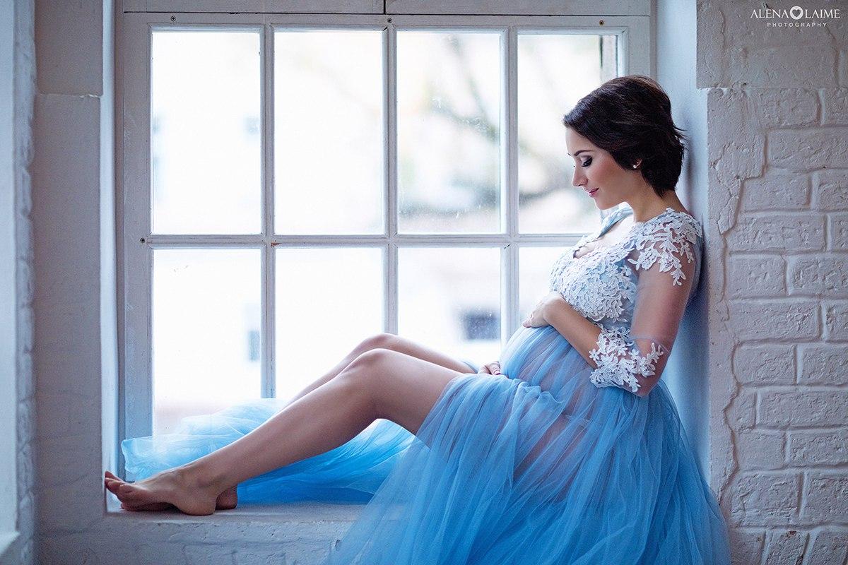 Голубой будуар для беременных