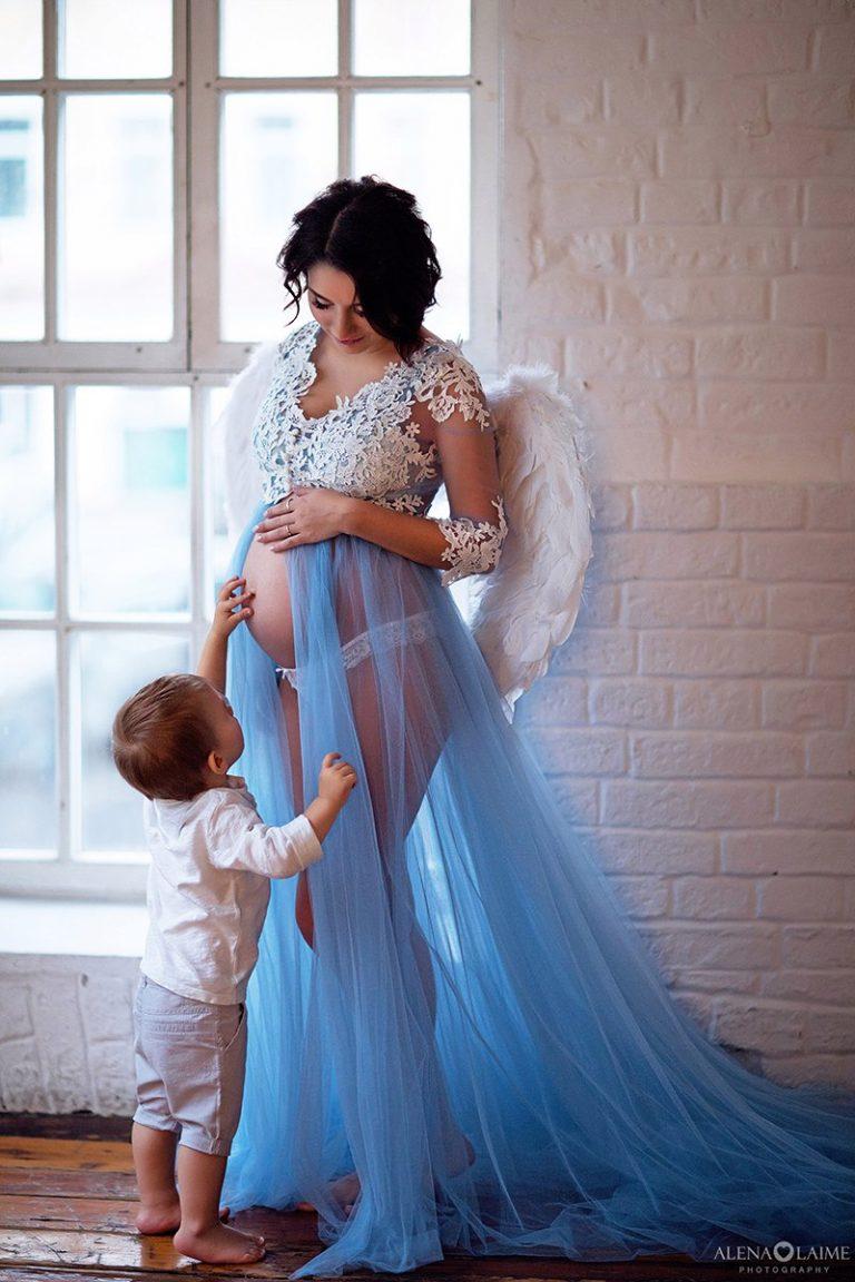 Прокат платьев для фотосессии беременным 564