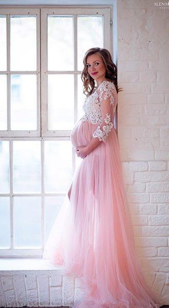 Розовый будуар для беременных