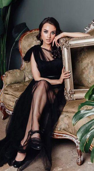 Будуарное платье Midnight in Paris