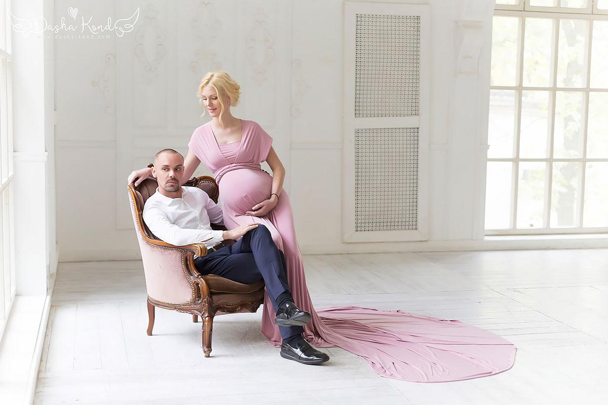 Розовое платье-трансформер