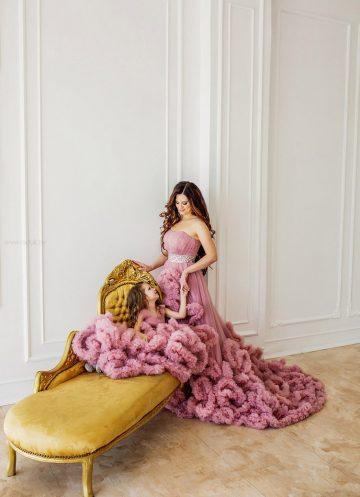 Комплект платьев мама-дочка