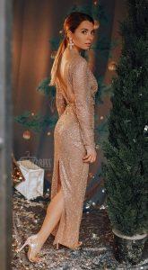 Вечернее платье Gwen Gold
