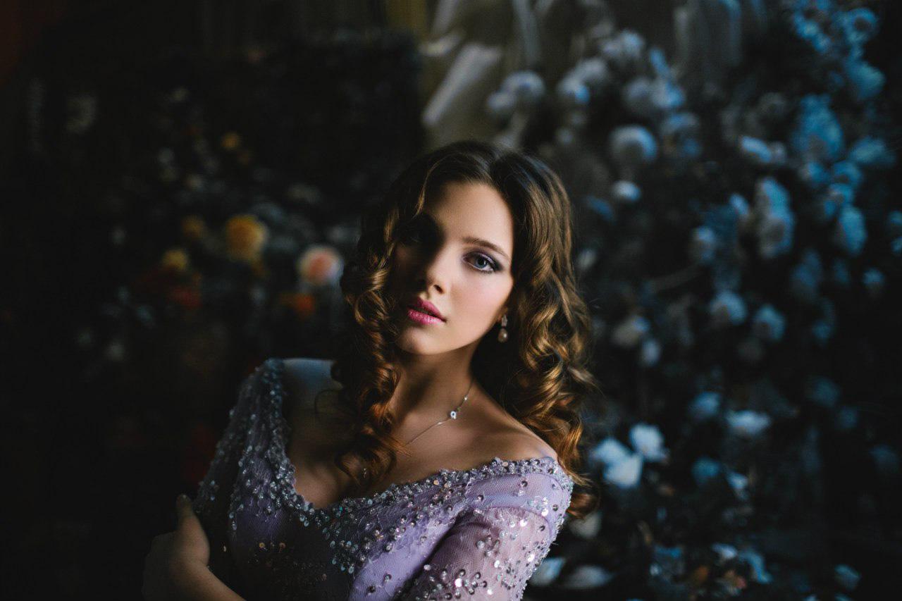 Лиза Козакова в образе принцессы