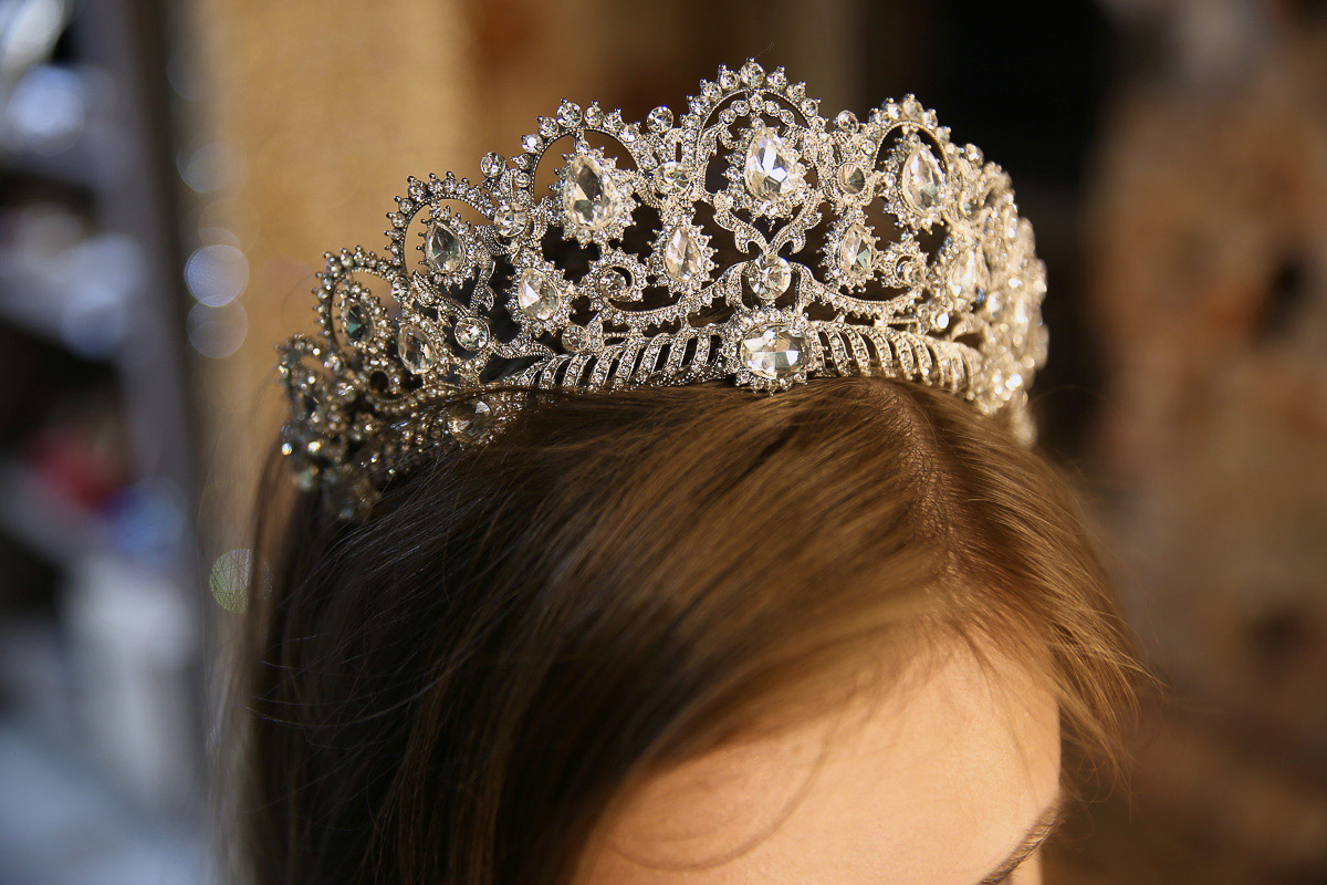Корона для фотосессии Crystal Crown K-07