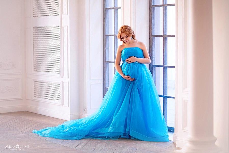 Фотосессия «В ожидании чуда» в воздушном платье