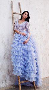 Пышное платье Blueberries & Milk