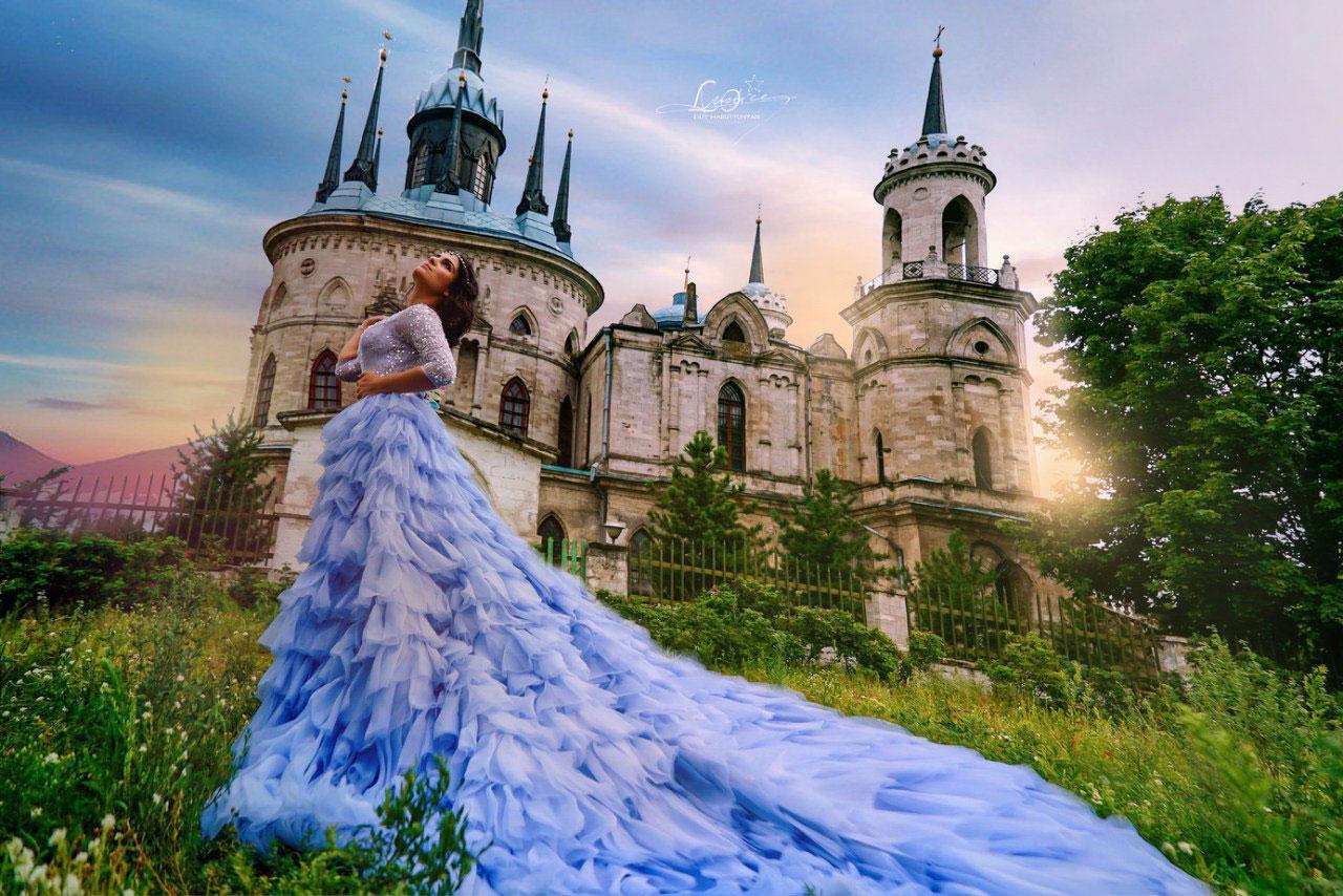 Фотосессия с замком