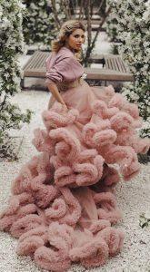 Розовое платье-облако Candy Cloud