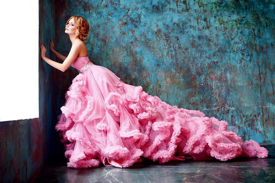 Идеи для фотосессии в пышном платье