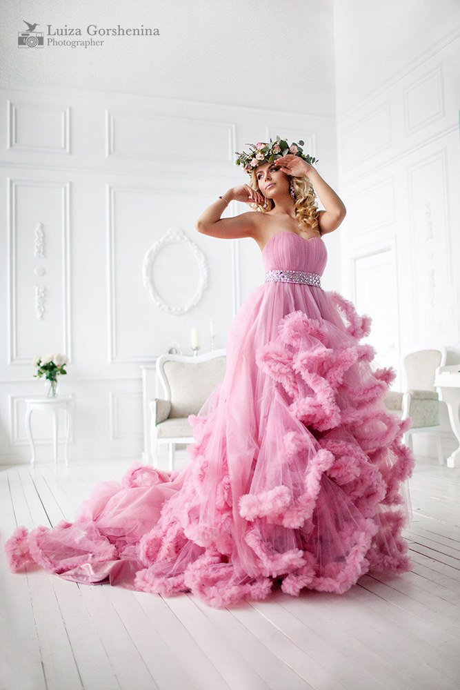 Фотосессия в москве в красивых платьях
