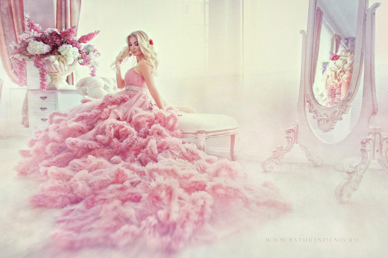 Фотосессии в пышных платьях