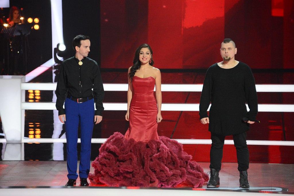 Диана Савльева на шоу Голос 2015