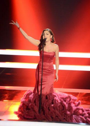 Певица Диана Савльева в шоу Голос 4