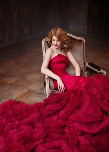 Платье-русалка напрокат