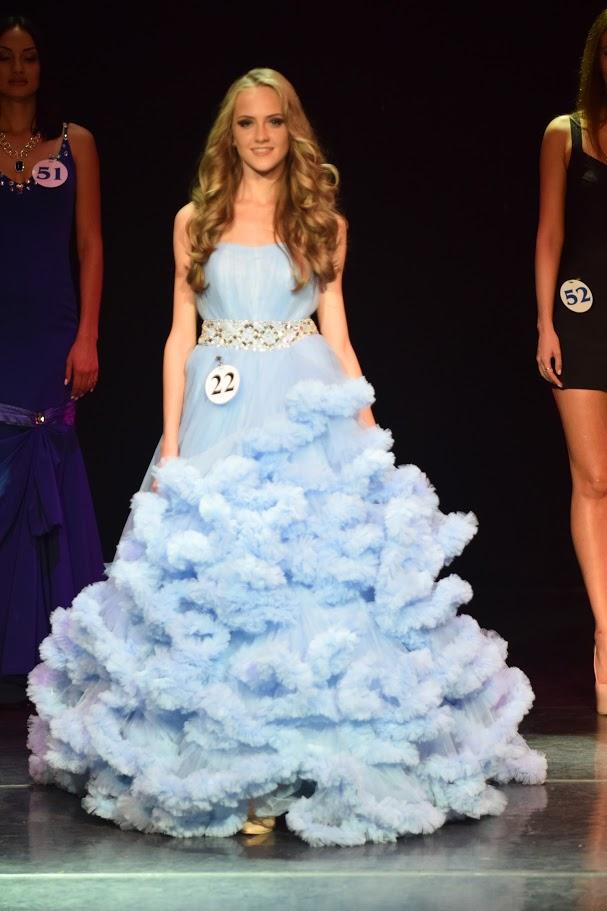 Платье для конкурса красоты