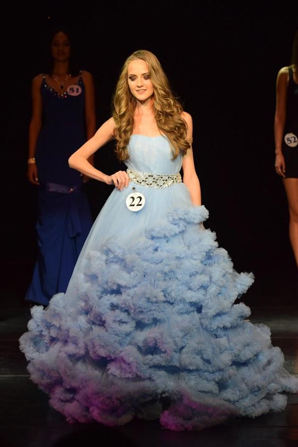 Пышное платье для конкурса красоты