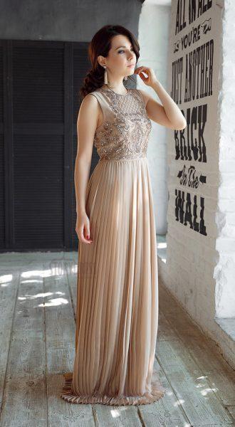 Вечернее платье Adele Gold