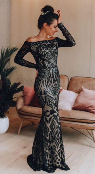 Вечернее платье Aisha Black