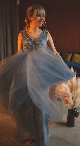 Вечернее платье Amelie Blue
