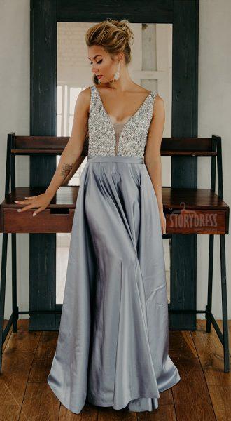 Вечернее платье Ellie Graphite