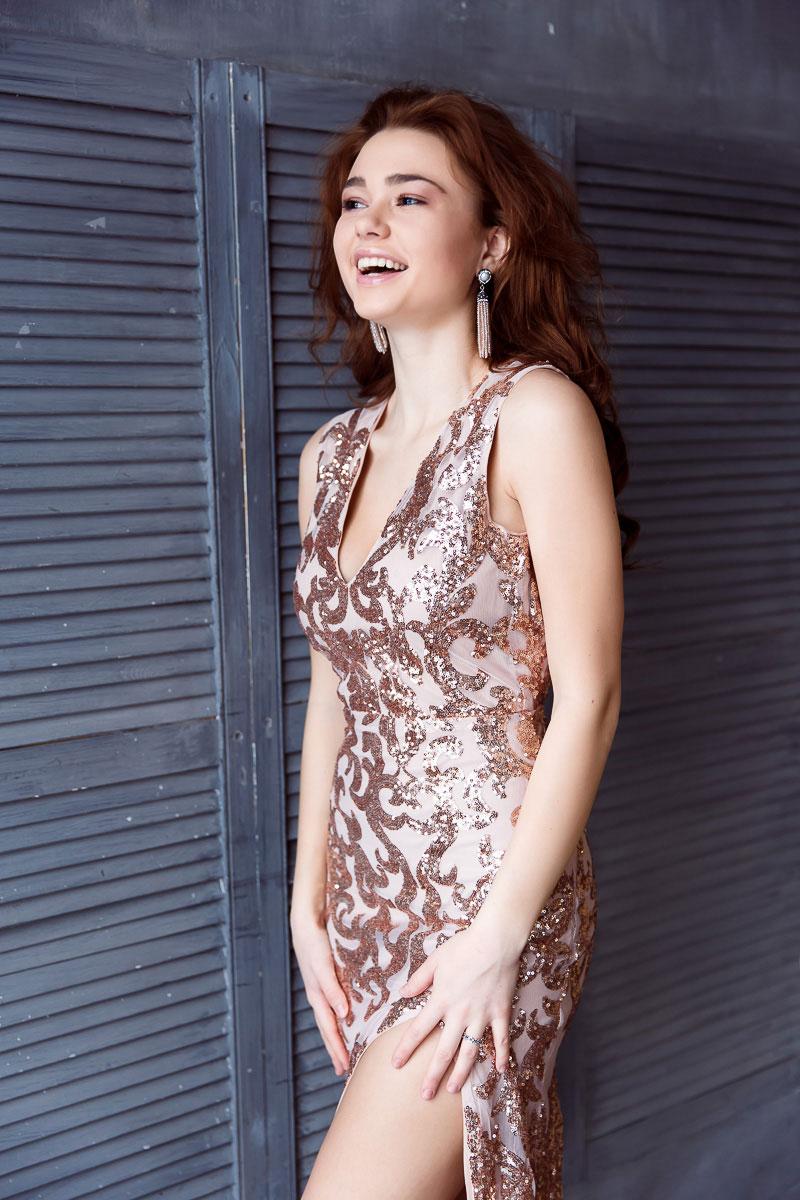 Вечернее платье в стиле Диор