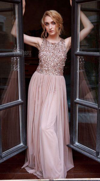 Вечернее платье Gemma Coffee