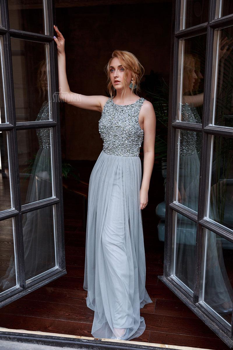 Платье с блестками для выпускного аренда