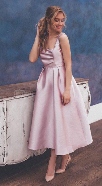 Платье с объемной юбкойGloria