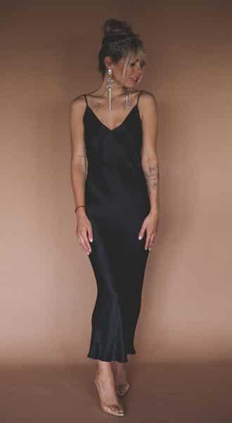 Платье-комбинация Lola Black