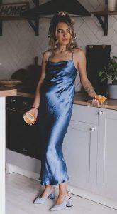 Платье в бельевом стиле Lola Blue