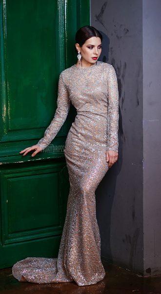 Роскошное блестящее платье для гламурного образа