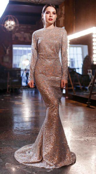 Платье с длинными рукавами Luxury Booze 05