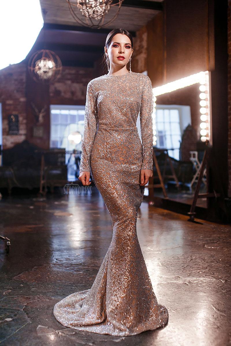 Длинное платье русалка со шлейфом прокат